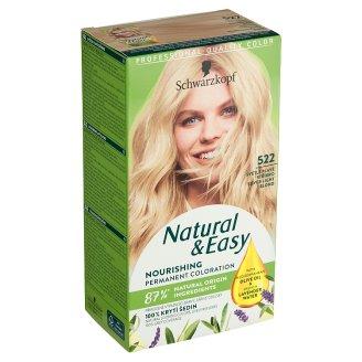 Schwarzkopf Natural & Easy barva na vlasy Světle Plavé Stříbro 522
