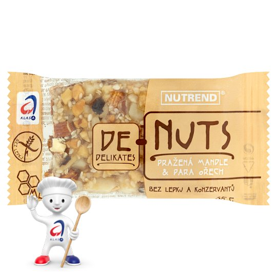 Nutrend DeNuts Roasted Almonds & Brazil nut 35g