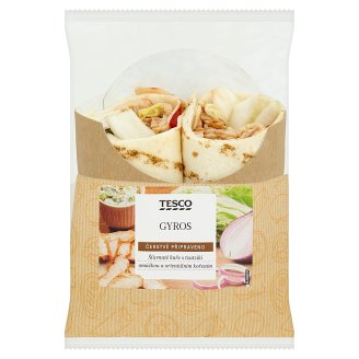 Tesco Gyros wrap 196g