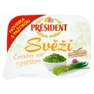 Président Svěží Fresh Cheese with Chive 125g