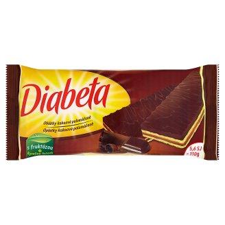 Diabeta Oplatky kakaové polomáčené 110g