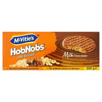 McVitie's HobNobs sušenky máčené v mléčné čokoládě 300g