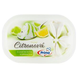 Prima Citronová zmrzlina s limetovým toppingem 900ml