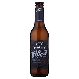 Tesco Finest Pivo ležák světlý pšeničný nefiltrovaný 330ml