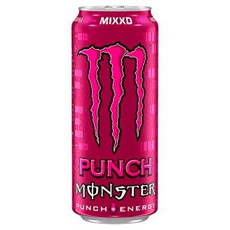 Monster Mixxd Punch + Energy sycený energetický nápoj 500ml