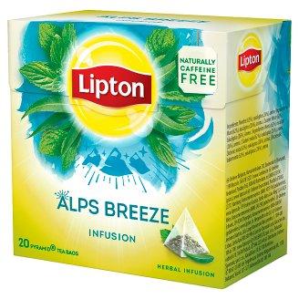Lipton Alps Breeze bylinný aromatizovaný čaj 20 sáčků 22g