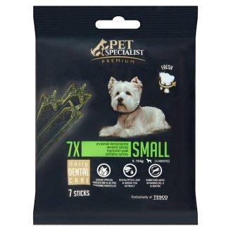 Tesco Pet Specialist Small dentální tyčinky 7 ks 110g