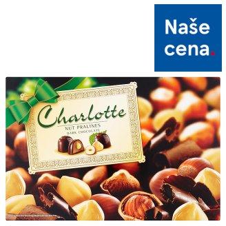 Charlotte Čokoládové bonbóny s náplní s lískovými oříšky 225g
