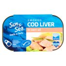 Sun & Sea Smoked Cod Liver in Own Oil 120g