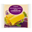 Tesco Processed Cheese Slices Cheddar 150g