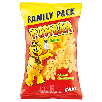 Pom-Bär Original Fried Potato Snack Salted 110g