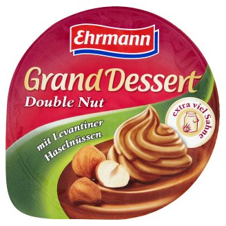 Ehrmann Dessert with Hazelnut Flavor and Whipped Cream 200g