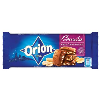 ORION mléčná čokoláda Barila 100g