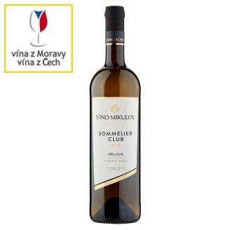 Víno Mikulov Sommelier Club Pálava víno s přívlastkem pozdní sběr, suché bílé 0,75l