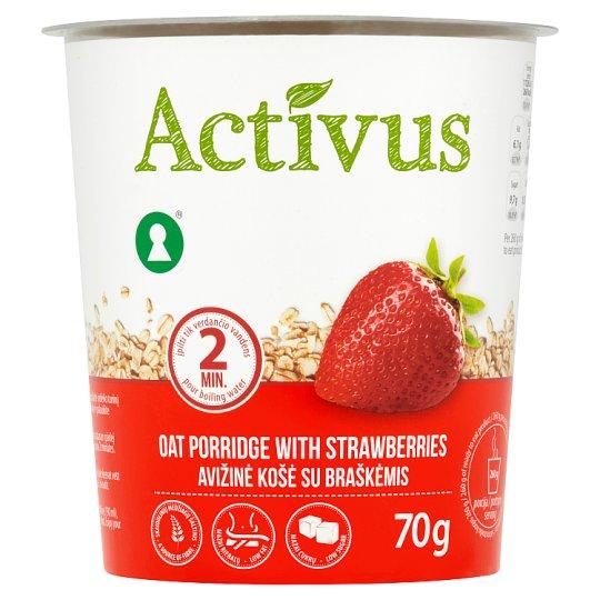 Activus Instantní ovesná kaše s jahodami 70g