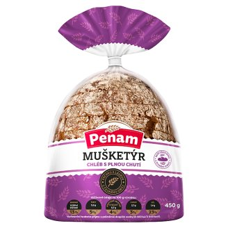 Penam Musketeer Sliced Multigrain Bread 450g