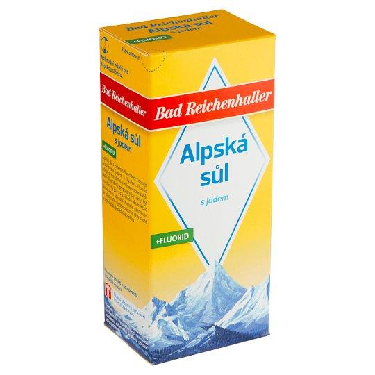 Bad Reichenhaller Alpská sůl s jodem a fluoridem 500g