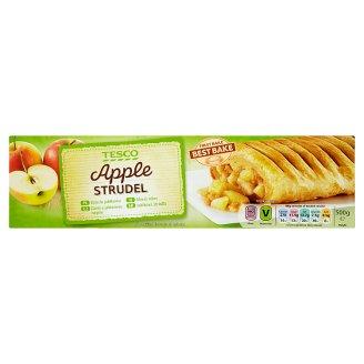 Tesco Apple Strudel Deep Frozen 500g