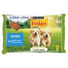 Friskies JUNIOR Selection of Chicken and Carrot in the Juice 4 x 100g