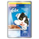 FELIX Fantastic Duo with Sardines and Salmon in Jelly 100g