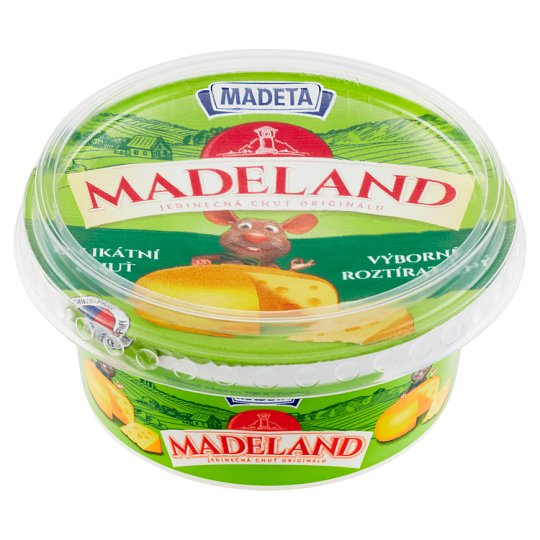 Madeta Madeland Gentle Cream Cheese 125g