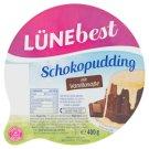 Lünebest Pudink s čokoládovou příchutí s polevou s vanilkovou příchutí 400g