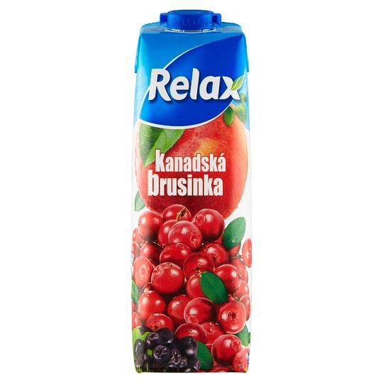 Relax Kanadská brusinka 1l
