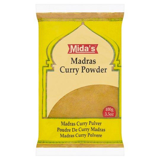 Mida's Madras Curry Powder Gently Hot 100g