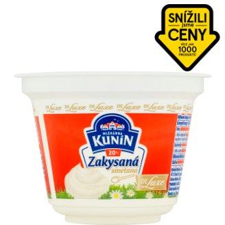 Mlékárna Kunín Zakysaná smetana de luxe 20% 190g