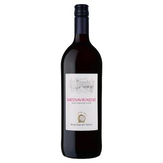 Svätovavrinecké víno červené suché 1l