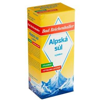 Bad Reichenhaller Alpine Salt with Iodine, Fluoride and Folic Acid 500g