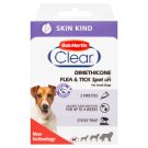 Bob Martin Clear Dimethicone Spot On for Small Dogs and Puppies to 15 kg 3 pcs
