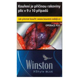 Winston Xstyle Blue cigarety s filtrem 20 ks