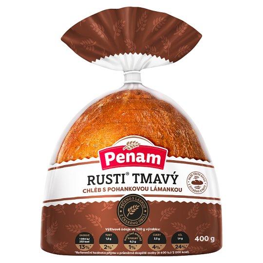 Penam Rusti tmavý chléb s pohankovou lámankou 400g