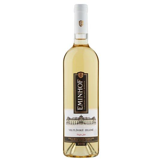Eminhof Veltlínské zelené bílé víno polosuché 0,75l