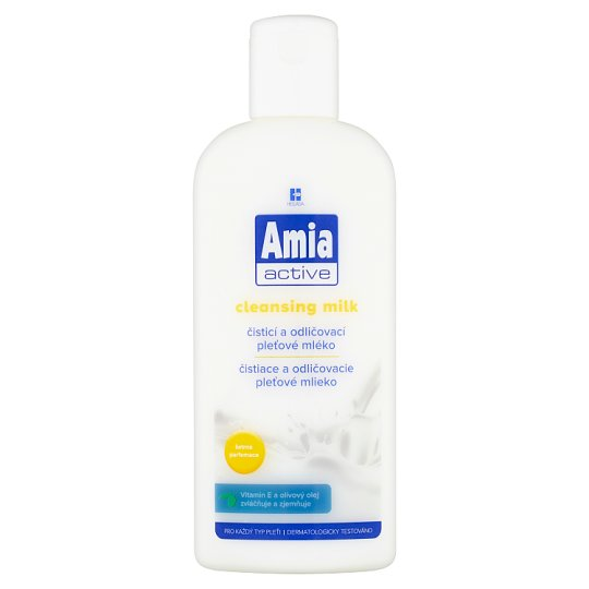 Amia Active Čisticí a odličovací pleťové mléko 200ml