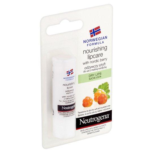Neutrogena Nourishing Lipcare with Nordic Berry Dry Lips 4.9g
