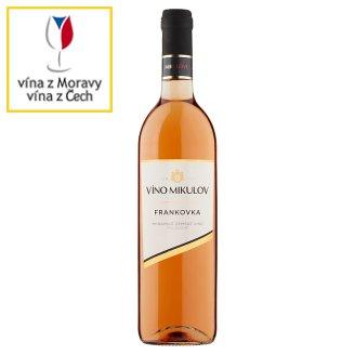 Víno Mikulov Frankovka Quality Varietal Dry White Wine 0.75L