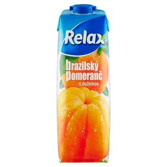 Relax Brazilský pomeranč s dužninou 1l