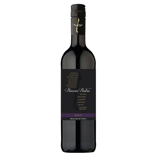 Primera Piedra Merlot Red Dry Wine 750ml
