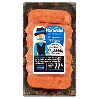 Láďa Grileman Moravian Sausages 0.220kg