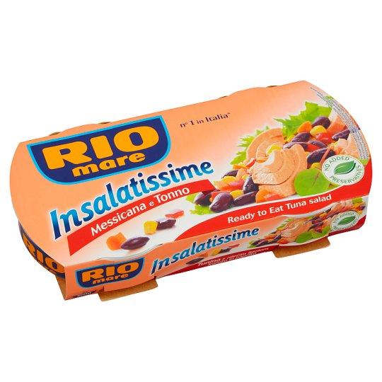 Rio Mare Insalatissime Hotový pokrm ze zeleniny a tuňáka 2 x 160g