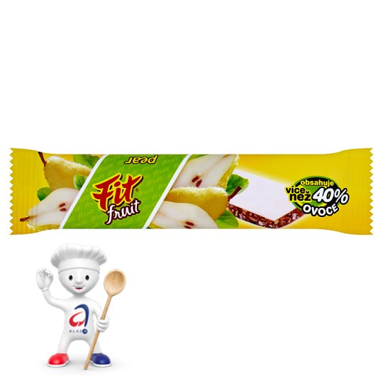 Fit Fruit Muesli Bar Pear 23g