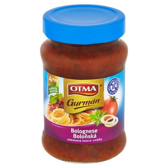 Otma Gurmán Bolognese Vegetable Finished Sauce 350g