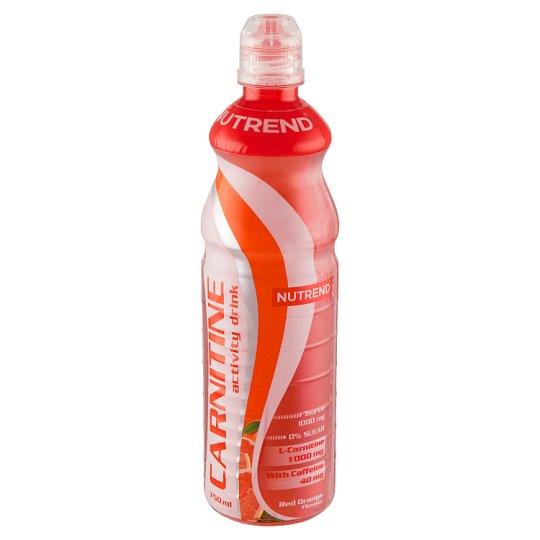 Nutrend Carnitine Activity Drink with Caffeine příchuť červený pomeranč 750ml