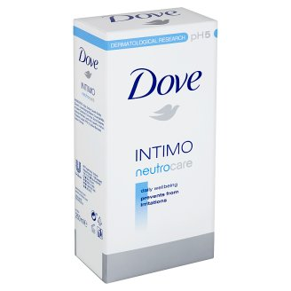Dove Intimo Neutrocare sprchový gel pro intimní hygienu 250ml