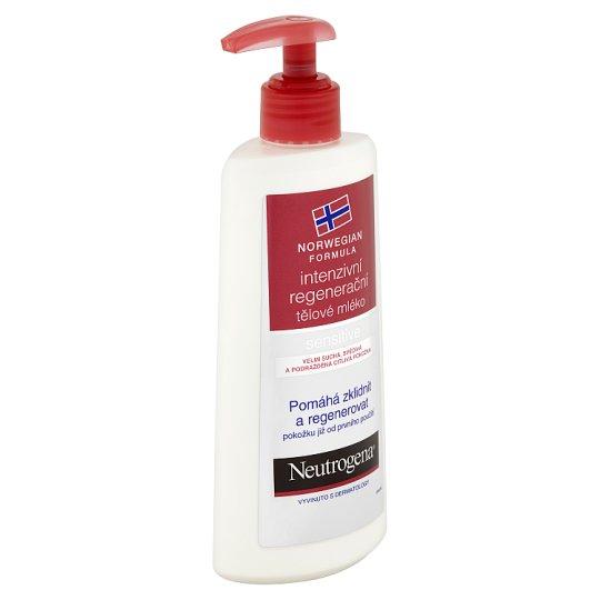 Neutrogena Intenzivní regenerační tělové mléko na citlivou pokožku 250ml