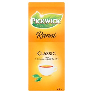 Pickwick Ranní Classic Mix with Ceylon Tea 25 x 1.75g
