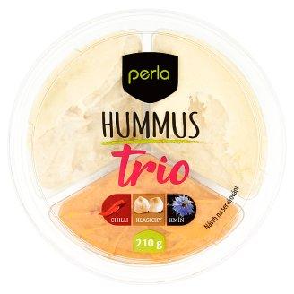 Perla Hummus trio 210g