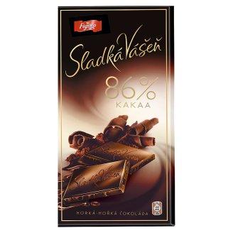 Figaro Sladká Vášeň 86% Cocoa Dark Chocolate 100g